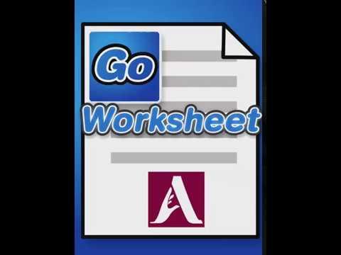 GoWorksheet: Link Button