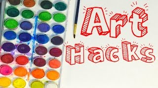 Easy Art Hacks!
