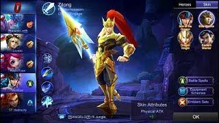 Mobile Legends - Zilong Awesome Game   Elite Warrior Skin