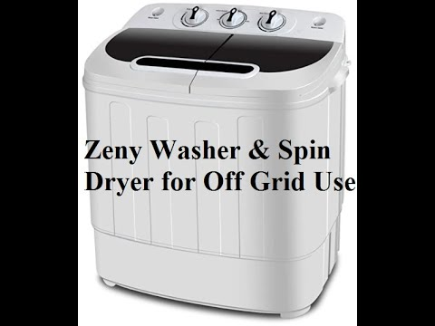 Zeny Washer and Spin Dryer Review for Off Grid Use