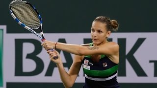 WTA QF Highlights: Pliskova vs. Muguruza
