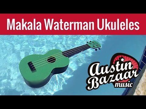 Makala Waterman Ukulele - Water-Resistant, Adventure-Proof!