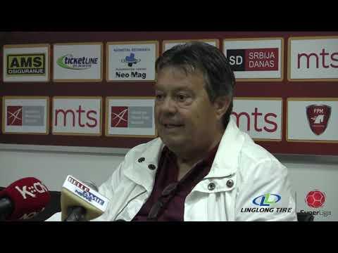 Linglong Tire Super liga 2019/20 - 12.Kolo: Izjave trenera nakon meča RADNIČKI NIŠ – NAPREDAK
