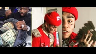 Adrien Broner Gets at 6ix9ine over 'Clown' Comment. 6ix9ine says he MUST Check in 2 come to Brooklyn