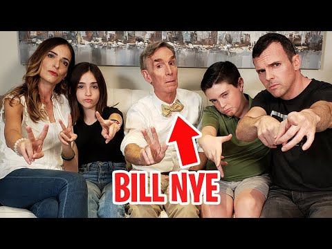 BILL NYE THE SCIENCE GUY SURPRISED US!!