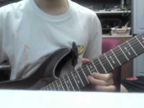 Tracking guitars for a new Aeonix original
