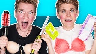 GUYS TRY GIRL PRODUCTS | Collins Key