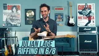 """Julian Lage Riffing in 6/8, and how to play """"The Ramble"""""""