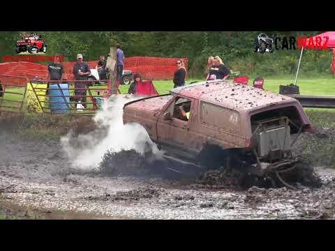 Ford Bronco Mega Truck Mudding At Bentley Lake Road Mud Bog Fall 2018