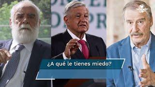 """""""No le saques"""", le dice Fox a AMLO tras negarse a recibir a """"En Jefe Diego"""" en Palacio"""