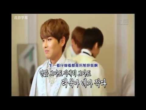 Super Junior的序列王 拿掉鞋墊後身高排名