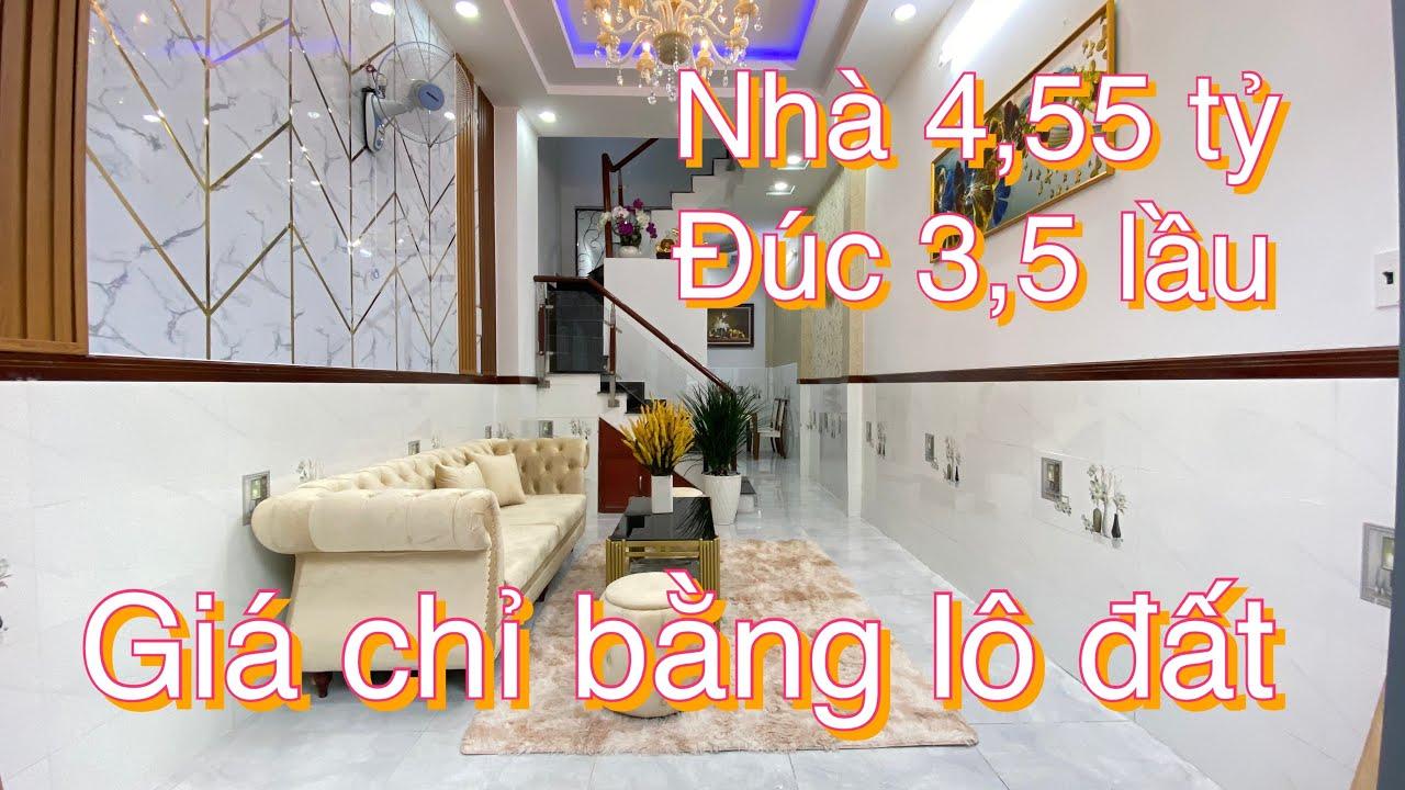 Bán nhà phố giá rẻ ngay đường Thống Nhất, Phường 16, Gò Vấp video