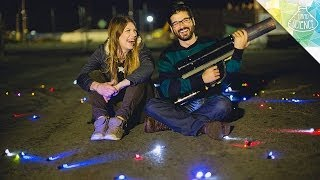 Making LED Street Art – Hard Science