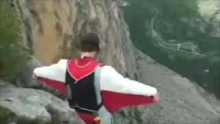 Cómo practicar wingsuit