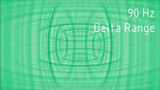 Pure 90 Hz Delta Range Binaural Beats [30 min]