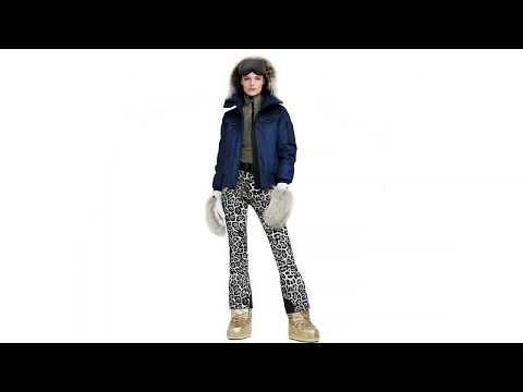 Goldbergh Roar Ski Pant in Leopard