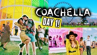 COACHELLA 2019 DAY 1🌵🌞 | Target, Hair Braiding and MY FAVES Blackpink!