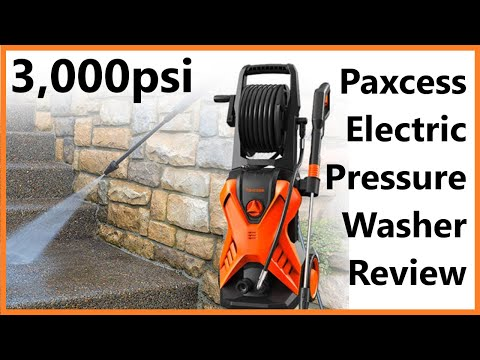 Paxcess 3,000 PSI Pressure Washer Overview, Assembly, and Demo