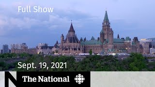 CBC News: The National | Eve of federal election, Alberta COVID-19, At Issue