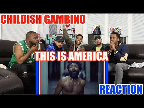 CHILDISH GAMBINO - THIS IS AMERICA (OFFICIAL VIDEO) REACTION/REVIEW
