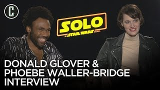 Solo: Donald Glover and Phoebe Waller-Bridge on Favorite Memories from Filming