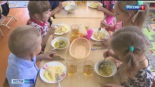 Теперь и еда на пару: в Омском районе модернизировали школьную столовую