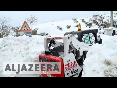 Italy avalanche: 10 survivors found as desperate search continues