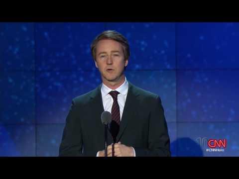 Edward Norton CNN Heroes