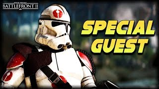 Star Wars Battlefront 2 SPECIAL GUEST! - Funny Gameplay Moments