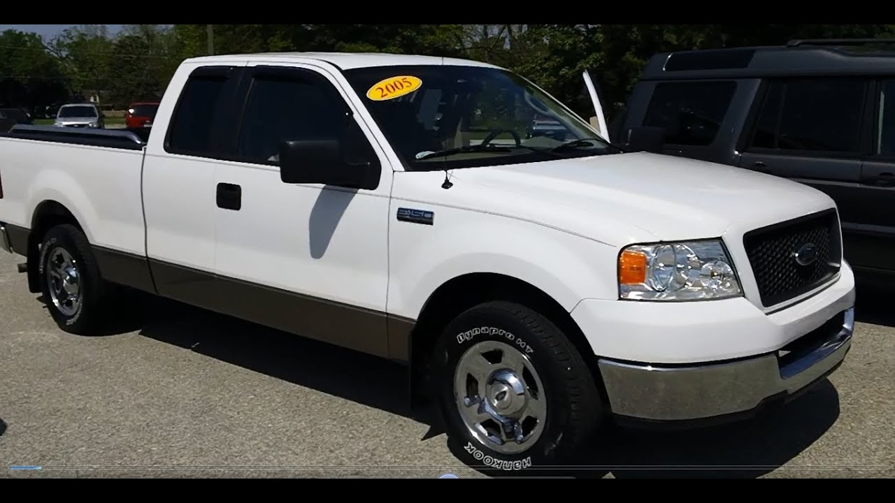 2005 ford f 150 extended cab youtube. Black Bedroom Furniture Sets. Home Design Ideas