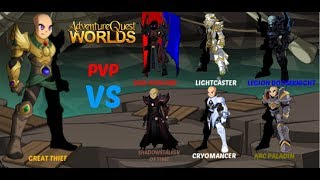 AQW HOW GOOD IS GREAT THIEF PVP