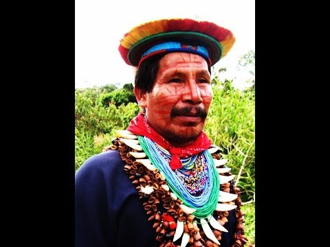 Amazon Shaman Healer Siona Tribe