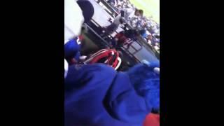 Buffalo Bills fight. Thursday night football 11/15/12