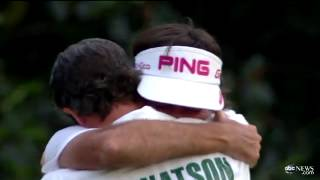 Bubba Watson Wins Masters 2012 Championship, Green Jacket for 1st Major Win