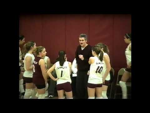 NCCS - Plattsburgh Volleyball  1-9-04