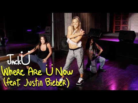 Skrillex and Diplo - Where Are Ü Now with Justin Bieber (Dance Tutorial) | Mandy Jiroux