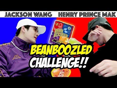 Got7 Jackson HATES me after this! Jackson vs Prince Mak BEAN BOOZLED CHALLENGE!