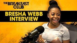 Bresha Webb Runs Her Mouth On The Breakfast Club, Talks 'Night School', 'Marlon' + More