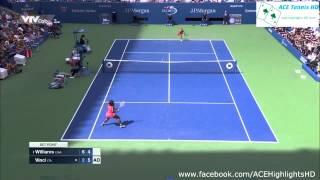 Serena Williams vs Roberta Vinci US OPEN 2015 tennis highlights HD720p 50fps by ACE