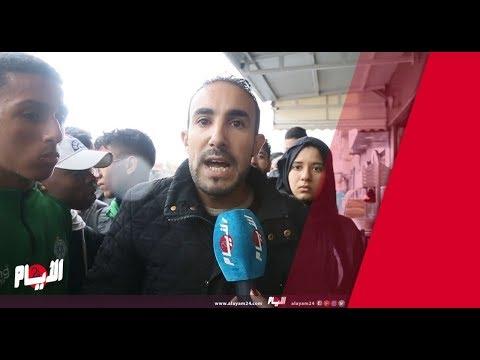مواطن يضم صوته إلى احتجاجات التلاميذ ويرفع رسالة إلى الحكومة