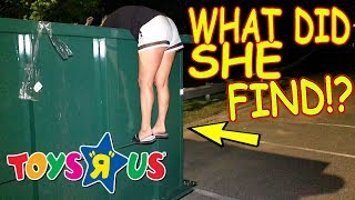 "TOYS ""R"" US LEFT US SOMETHING UNBELIEVABLE IN THEIR DUMPSTER!"