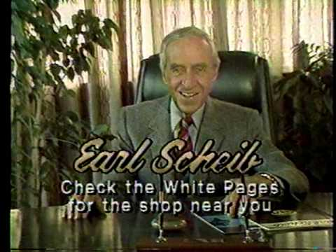 1986 Earl Scheib Commercial Youtube