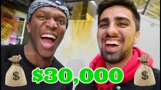 WINNING $30,000 ON KSI FIGHT *CRAZY AFTER PARTY* !!!