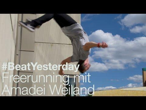 Freerunning mit Amadei Weiland #BeatYesterday