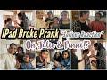 IPAD BROKE Prank on Julie & Pinni!? Julie Cried and Angry Reactions? Ipad Screen Broke Prank  