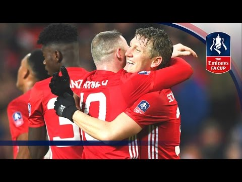 Manchester United 4-0 Wigan Athletic - Emirates FA Cup 2016/17 (R4) | Official Highlights
