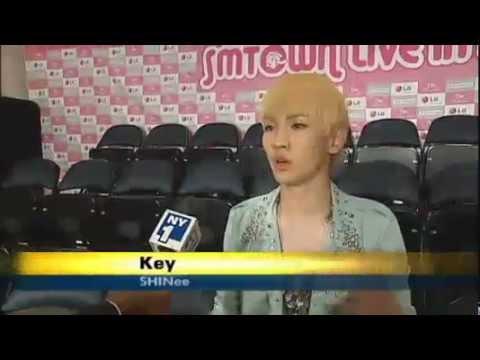 Tiffany&Jessica(SNSD),Key(SHINee) Speaking English