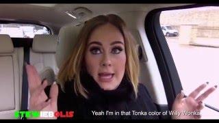 """Adele Raps Nicki Minaj's """"Monster"""""""