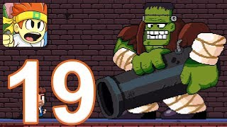 Dan The Man - Gameplay Walkthrough Part 19 - Fright Zone: Levels 4-6, Boss, Ending (iOS, Android)