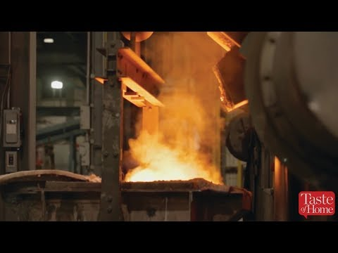 How Cast Iron Skillets Are Made